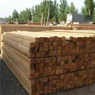废旧方木材