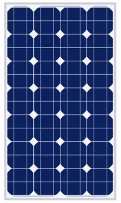 100W太阳能电池组件