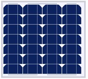30W太阳能电池组件
