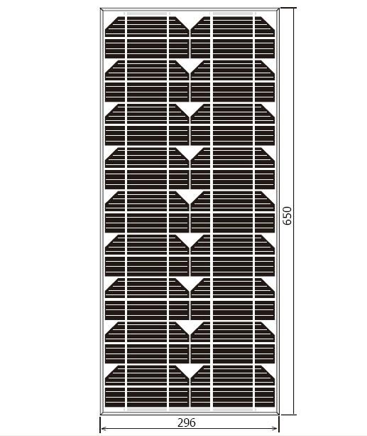 20W太阳能电池组件