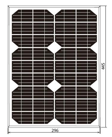 15W太阳能电池组件