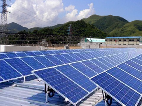 20KW太阳能光伏电站,离网太阳能电站