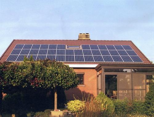 6.8KW家用太阳能独立供电系统