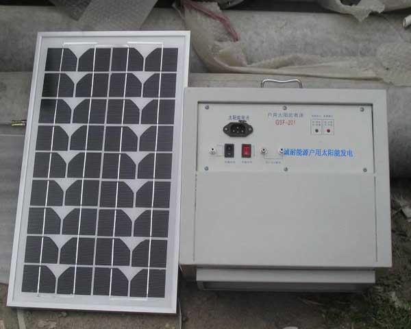 户用太阳能发电CGDFY02