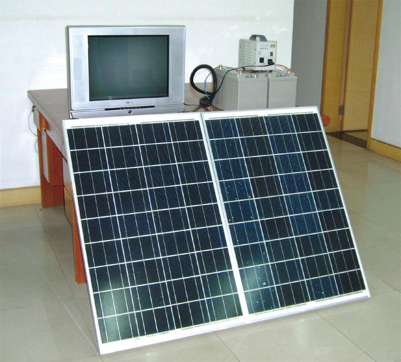 家用太阳能发电系统CGDJY01