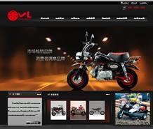 名称:摩托车类公司网站