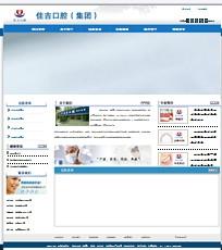 名称:医药类企业网站