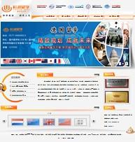名称:留学咨询企业网站
