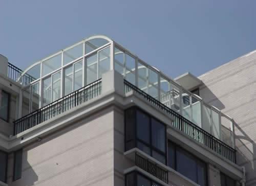 陽光房斷橋鋁工程案例
