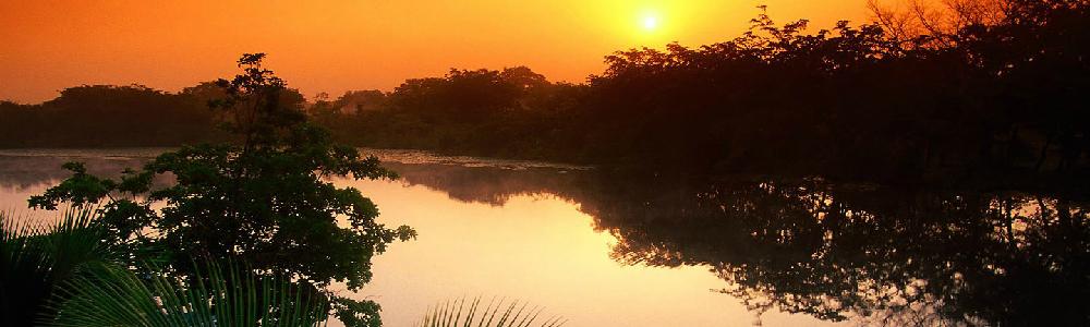 日落五星湖